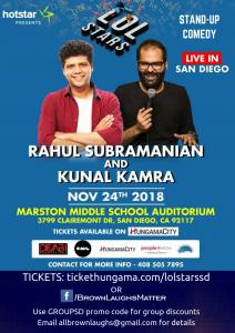 Stand-Up Comedy: Kunal Kamra And Rahul Subramanian