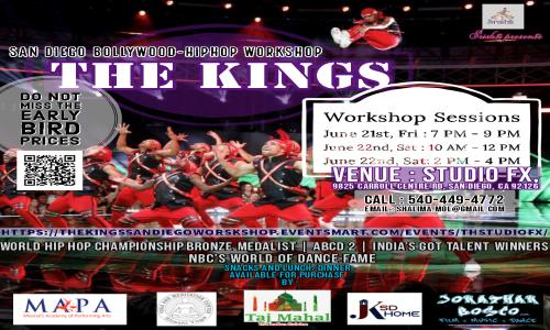 The Kings (world Of Dance | Indias Got Talent | Abcd 2 | World Hip Hop Champions) Bollywood Hiphop Workshop