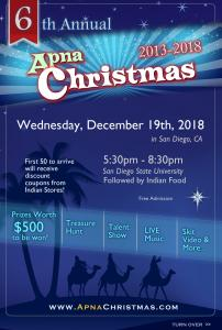 Apna Christmas 2018 - 6th Annual