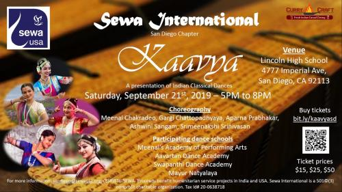 Kaavya -- A Presentation Of Indian Classical Dances