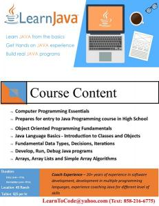 Java Programming Course