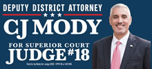 CJ Mody for Judfe